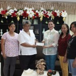 VICE GOVERNOR ALMONTE HANDED OVER THE FINANCIAL ASSISTANCE TO PUNONG BRGY ESMAEL BALABAG FOR THE PURCHASE OF EQUIPMENT FOR THEIR WATER SYSTEM