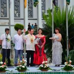 Oath-taking of Congressman Jorge T. Almonte, Representative of the 1st District of Misamis Occidental, administered by Hon. Nora L. Montejo