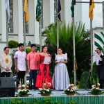 Oath-taking of Hon. Aurora Virginia M. Almonte, Vice-Governor of Misamis Occidental, administered by Hon. Nora L. Montejo